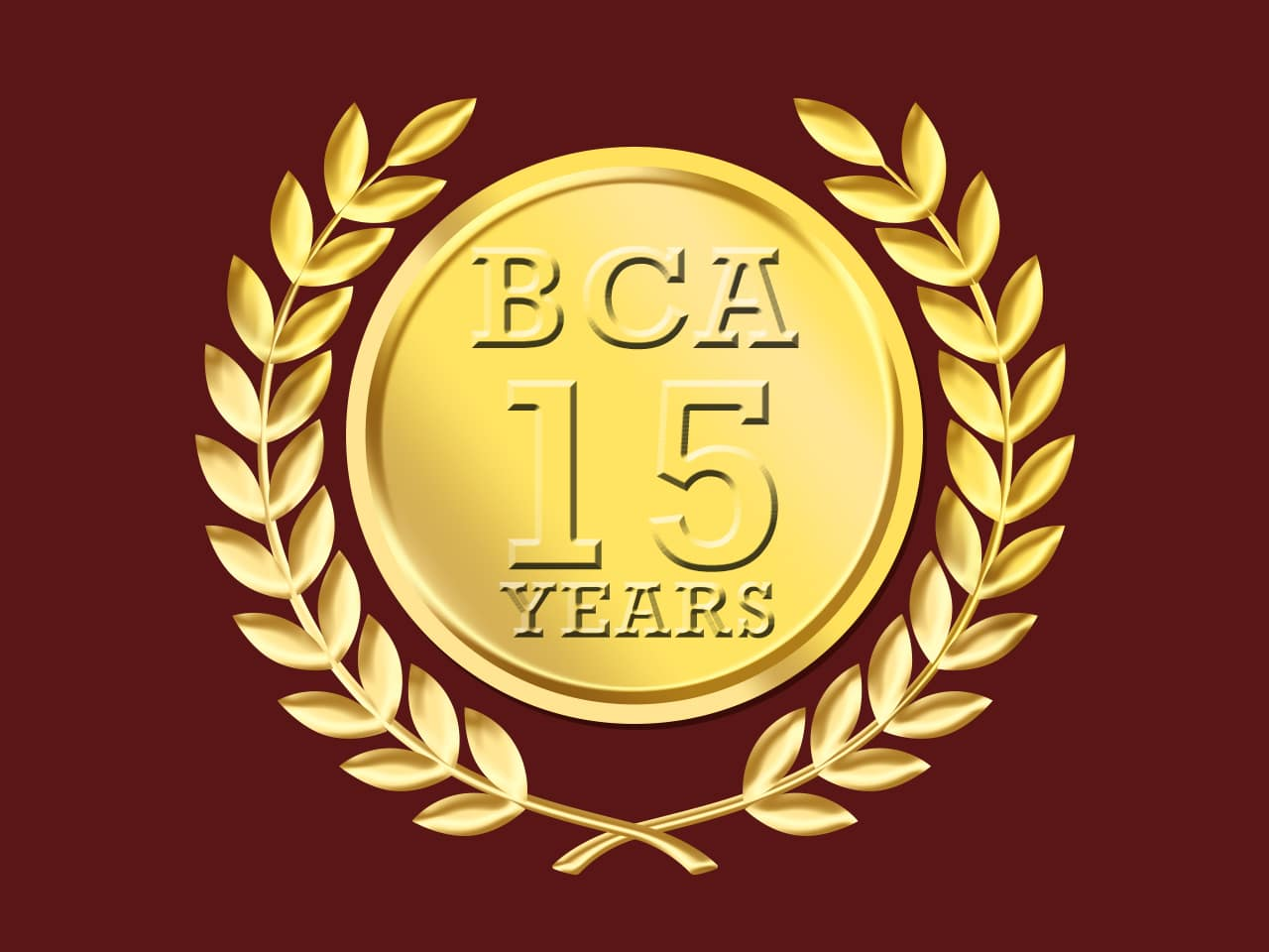 BCA – 15 Years of Excellence
