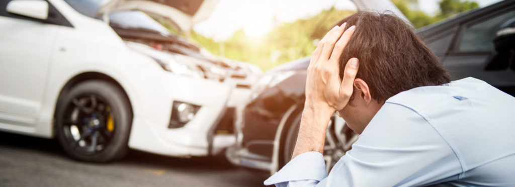 unemployment due to a car accident