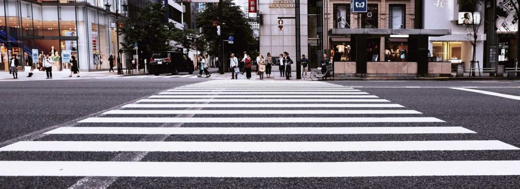 Picture of a crosswalk