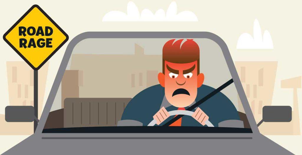 An angry driver.
