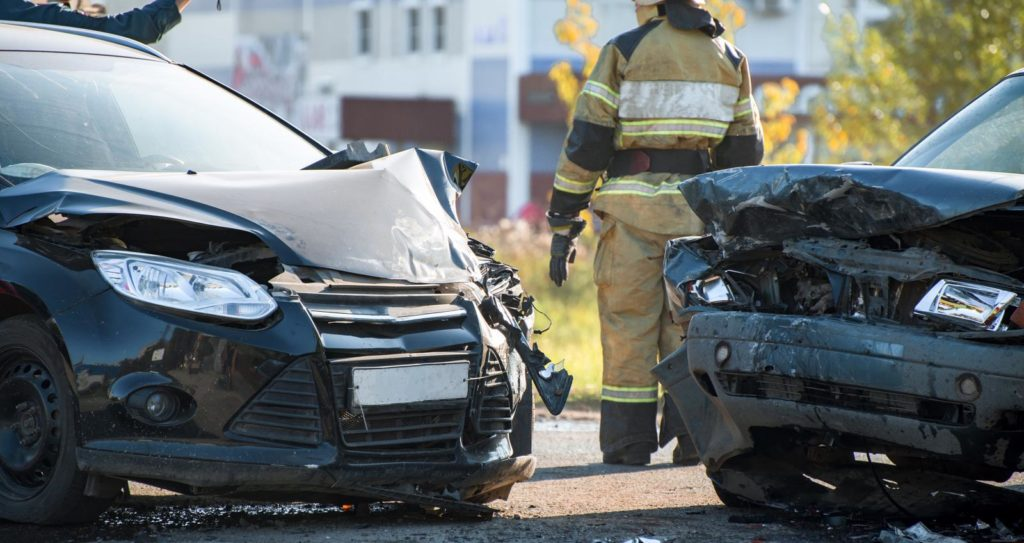 Two-Vehicle Crash in Tyler